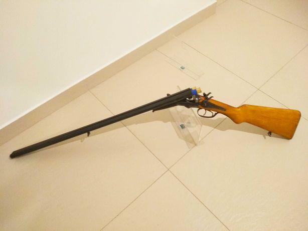Piękna dubeltówka czarnoprochowa Husqvarna kal 16 strzelba karabin