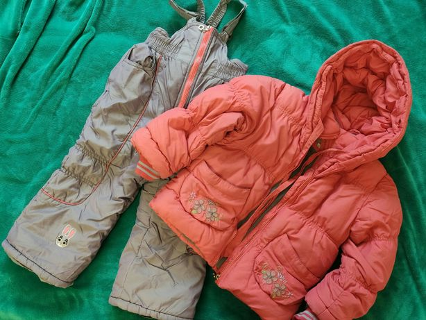 Зимний комбинезон, куртка