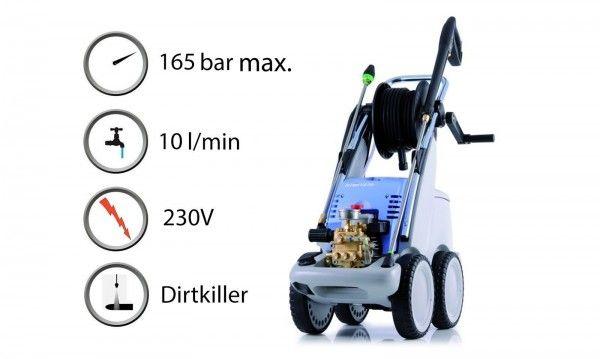 Máquina de Lavar Alta Pressão Kranzle Quadro 599 TS T