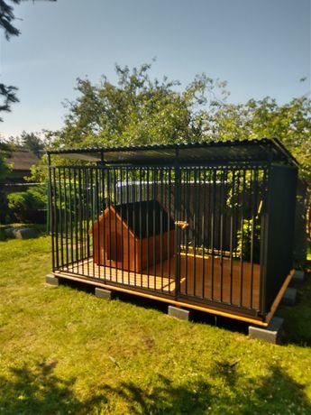 Kojec dla psa,stalowa mocna konstrukcja,klatka