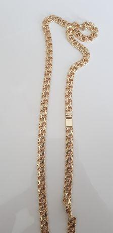 Złoty łańcuch Galibardi próby 585 14k nowy