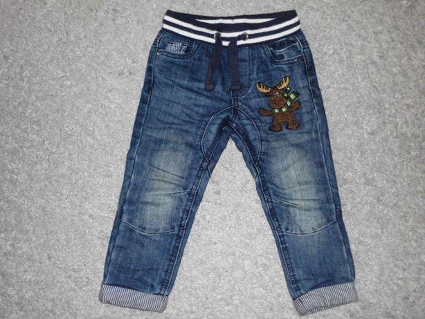Spodnie jeansowe rozm.92