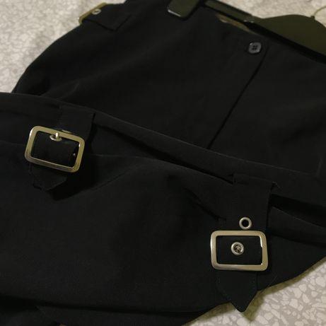 Штаны CLOCKHOUSE брюки с застёжками