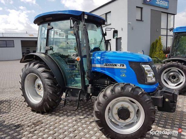 Nowy Traktor Ciągnik Solis 75 km napęd 4x4