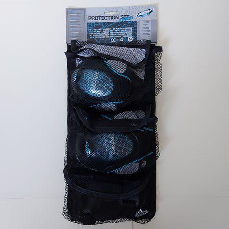Ochraniacze Nijdam junior Protection Set rolki hulajnoga protektory M