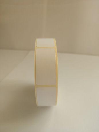 Этикетка 20х40х1000 термоэтикетка ТОР чистая Етикетка стикера