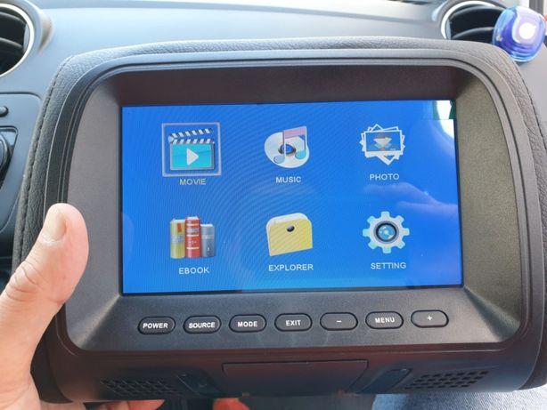 TV auto - Sistema de entretenimento carro (USB ou cartão SD ou AV)