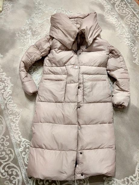 Куртка зимняя пальто пуховик S