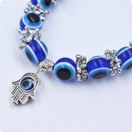 niebieska bransoletka oko proroka Dzień Matki prezent