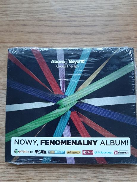 Above & Beyond Group Therapy CD folia 2011r unikat