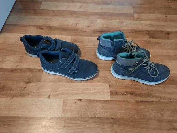 Paka  butów  chłopięcych 34