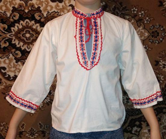 Вышиванка для мальчика 6-7 лет