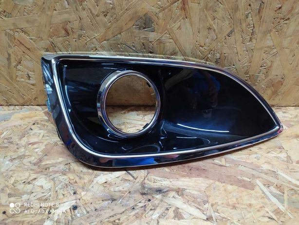 Hyundai IX35 lewa kratka zderzaka przedniego na halogen nowa