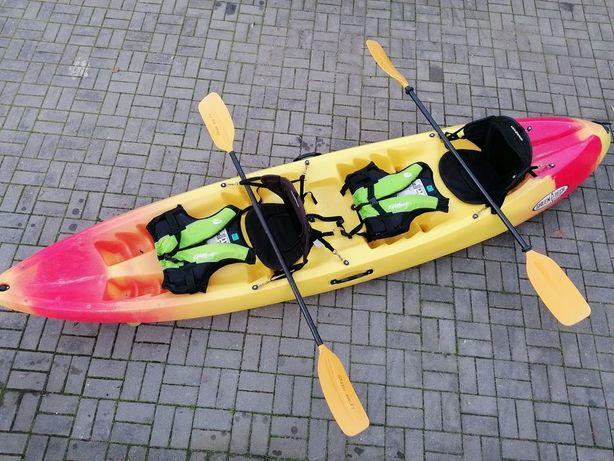 Pack Kayak GTK2 NOVO + equipamento NOVO
