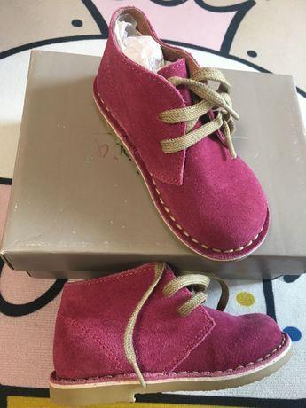 Ботиночки детские осень кожа