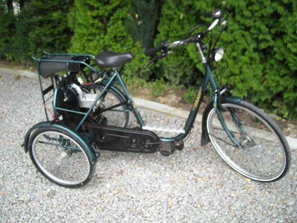 rower spalinowy trzykołowy