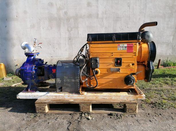 Pompa KSB HATZ diesel deszczowni deszczownia nawadniania motopompa
