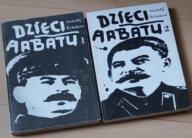 Dzieci Arbatu 2 tomy - Anatolij Rybakow