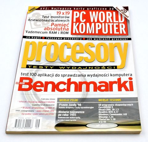 PC World Komputer nr 9/1999 - czasopismo