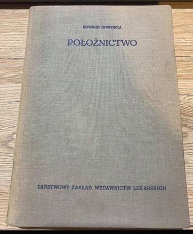 """Książka """"Położnictwo"""" Edward Howorka"""