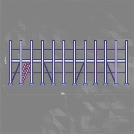 Rusztowanie typu Plettac elewacyjje 148,5 m2