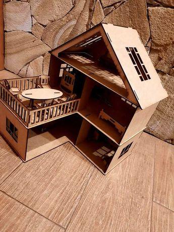 Домик кукольный, домик для кукол лол с мебелью