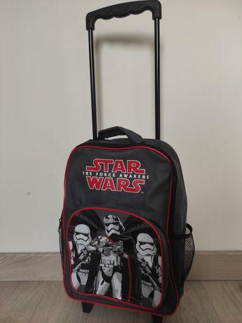 Walizka dla dziecka dla chłopca Star Wars jak nowa