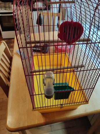 Клітка для попугая 45*28*60см