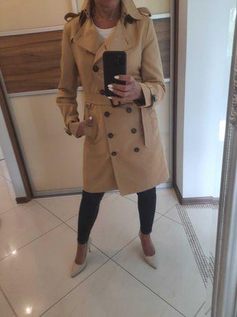 Piękny Damski płaszcz BURBERRY okazja