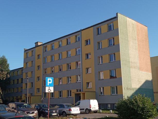 Mieszkanie 60m2, 3 pokoje, łazienka z oknem, IVp. Duża piwnica
