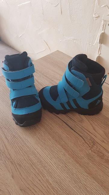 Buciki chłopięce zimowe Adidas rozmiar 21