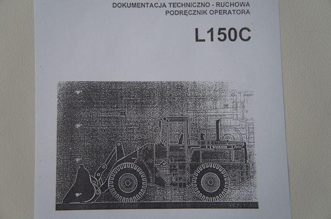 Instrukcja obsługi DTR do ładowarki kołowej VOLVO L150 C j. polski