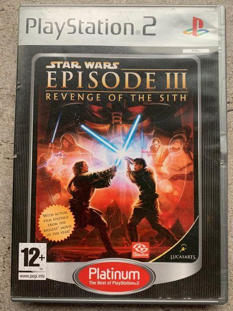Gra PS2 Star Wars Episode III Revenge og the sith