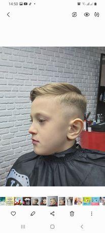 Барберские стрижки, оформление бороды, бритье