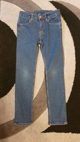 Spodnie jeansy dla chłopca H&M rozm. 134