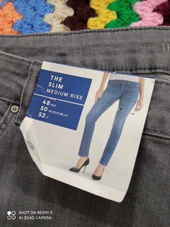 джинсы очень большие стрейч коттон