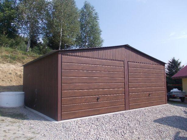 Garaze blaszane garaż blaszany blaszak 6x5 wadowice producent 6x6 7x5