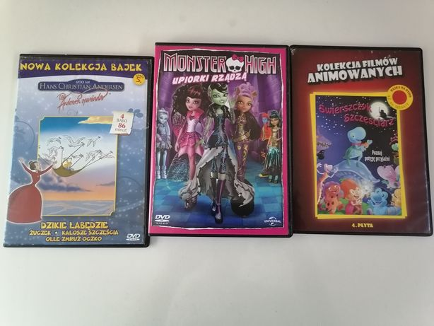 Monster High film na dvd