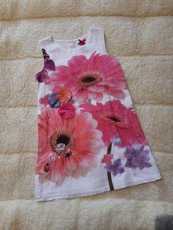 Продам платье Next на девочку 3-4 лет