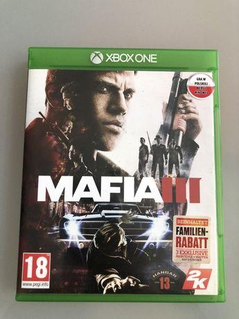 Mafia III Xbox One płyta w stanie idealnym polecam