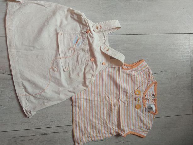 Sukienka+koszulka 80