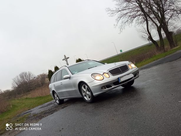 Mercedes Benz E kalsa w211