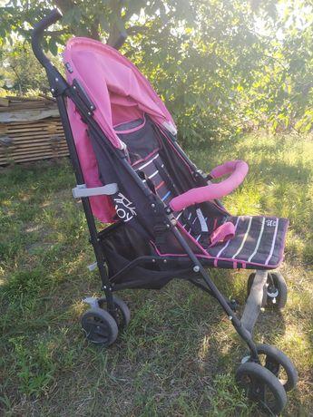 Детская коляска, трость