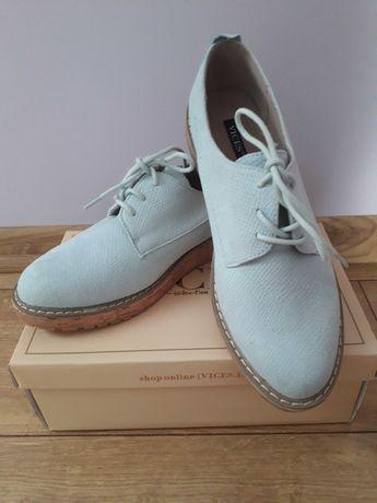 Skórzane, piękne buty