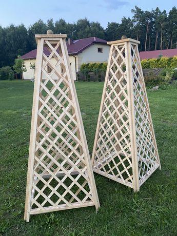 Obelisk drewniany 180x70