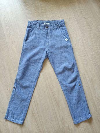 Spodnie letnie ,lniane 8-9 lat