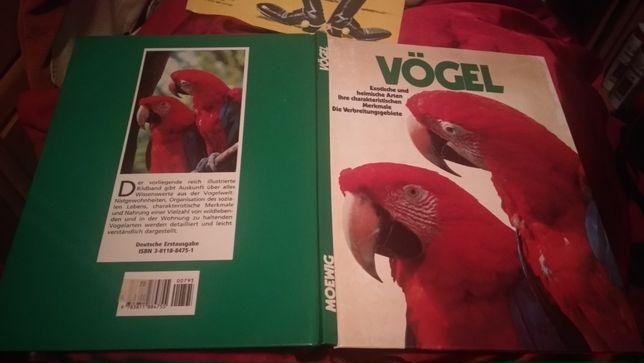 Vögel Moewig книга атлас немецкий язык птицы отличное состояние