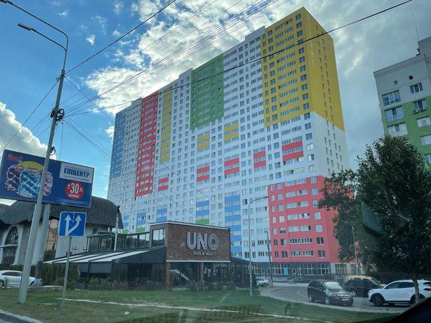 Видова 1-кімнатна Квартира у центрі Броварів по вул Київській, 48 м2