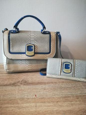 Torebka Guess z portfelem+buty Zara