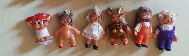 Куклы мышки и мухомор